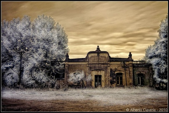 San Eladio - Estación de tren abandonada