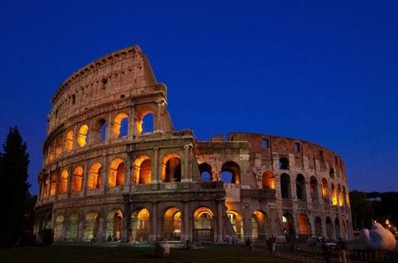 Hora azul - Coliseo  Roma