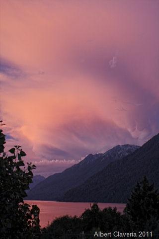 Hora azul - Lago Correntoso - Neuquen
