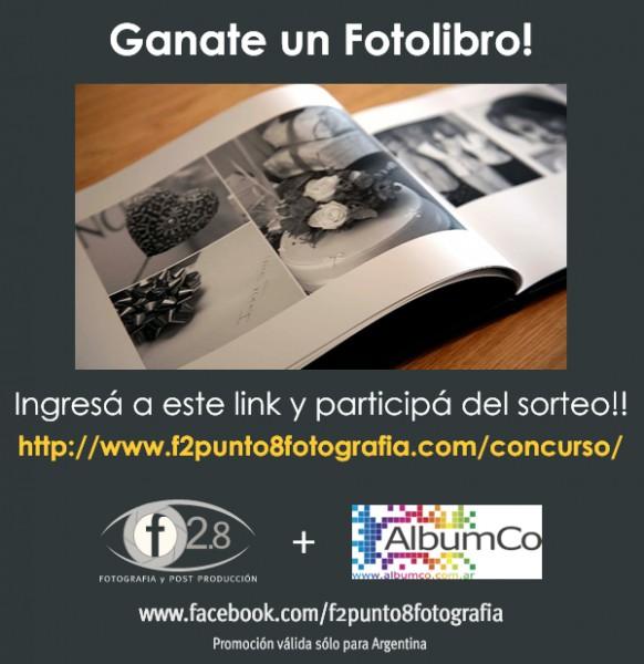 Sorteo Fotolibro AlbumCo